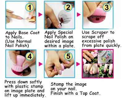 Beautiful Scratchers Nail Art Supplies Scratchers